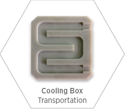 Aluminum nitride ceramic component for cooling boxes in rail vehicles to ensure reliable, safe, and durable operation