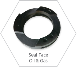 Silicon nitride seal face for use in oil & gas and petrochemical applications